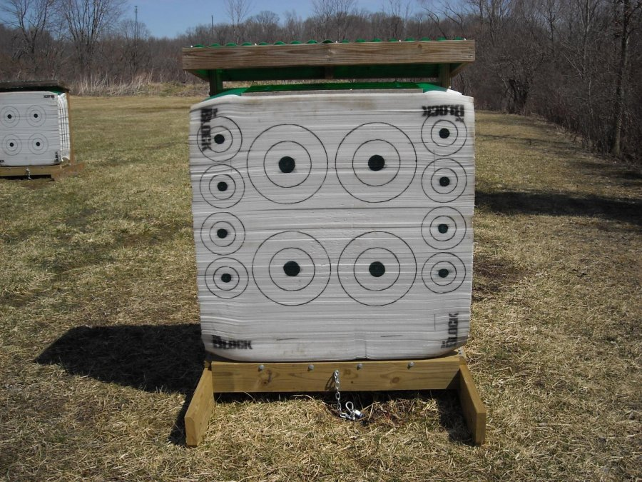Friends of Punderson Archery Stationary Target 1