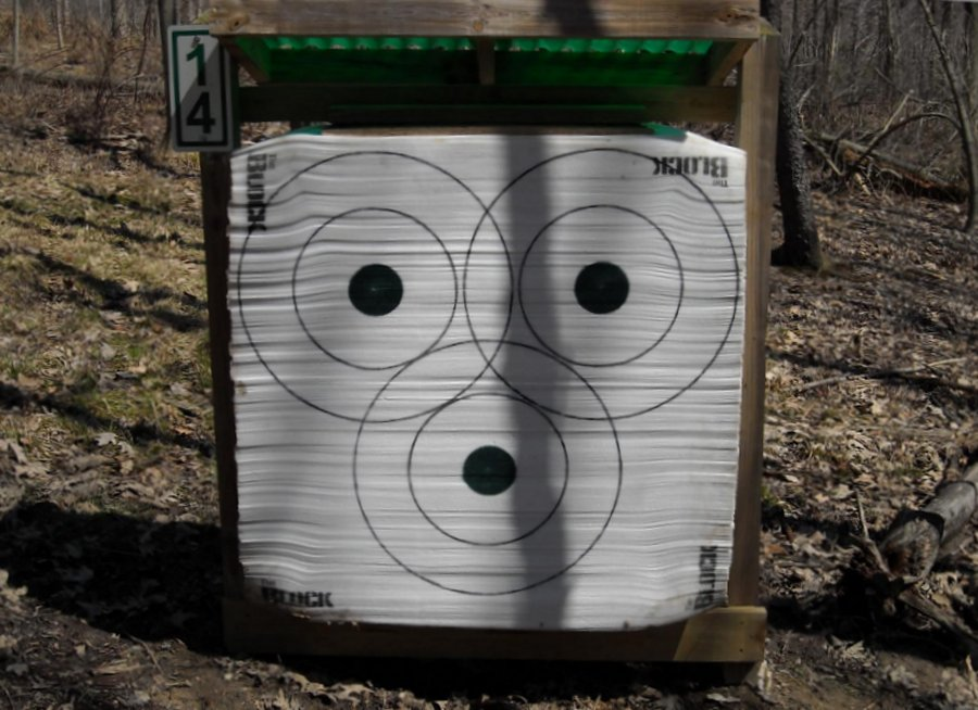 Friends of Punderson Archery Walking Range 1