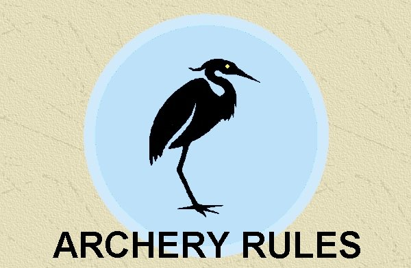 Friends of Punderson Archery Rules Page