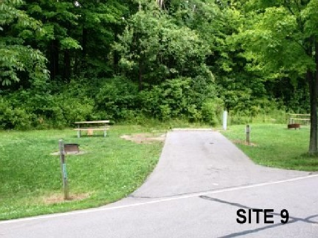 Punderson State Park Camp Site 9
