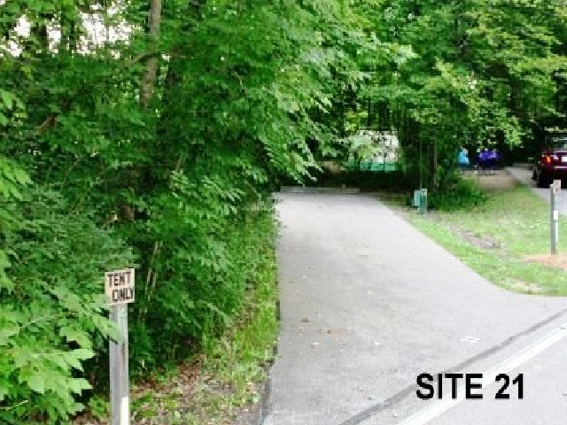 Punderson State Park Camp Site 21