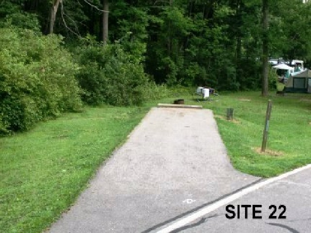 Punderson State Park Camp Site 22