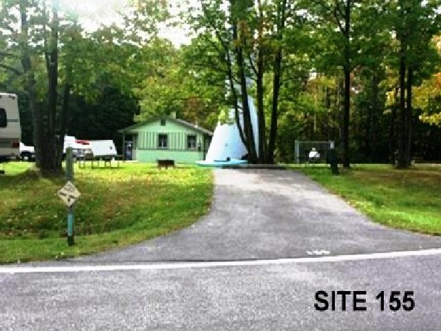 Punderson State Park Camp Site 155