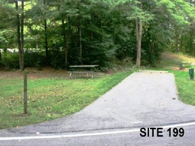 Punderson State Park Camp Site 199